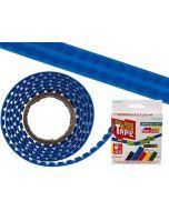 Flexibel bouwsteentape blauw