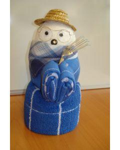 Towel dolls tuinman