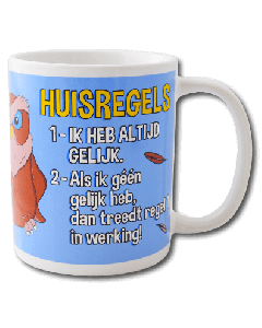 Funny mok Huisregels