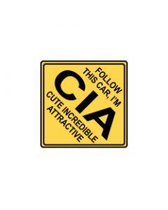 Verkeersbord CIA