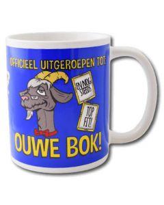 Funny mok Ouwe Bok
