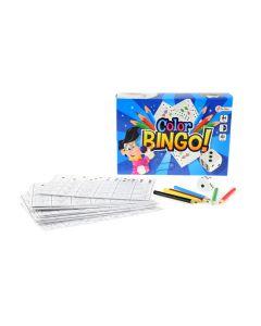 Bingo kleurspel