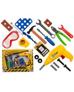 Speelgoed gereedschapsset 19-delig