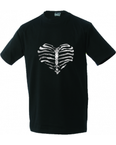 Unisex T-shirt Heart made of ribs
